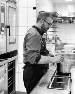 Chef Arnaud Barberis